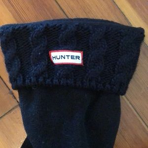 Hunter cable sock
